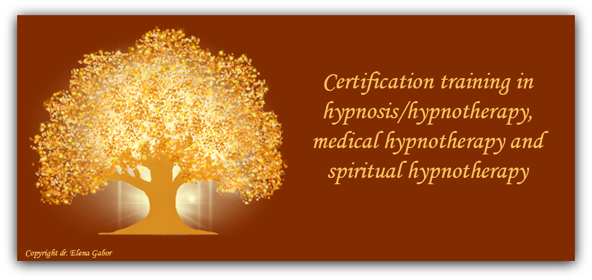 HYPNOSIS / HYPNOTHERAPY CERTIFICATION TRAINING – Dr. Gabor